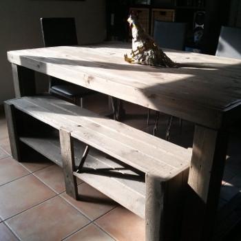 Palettes and co cr ation de meubles et objets d co b ziers for Meubles palettes de recuperation