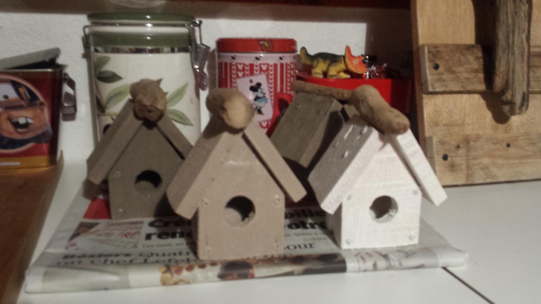 #A0422B Comment Fabriquer Une Cabane à Oiseau? Palettes & Co 7610 décoration de noel à fabriquer pour adultes 1778x1000 px @ aertt.com