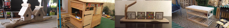 Comment fabriquer un si ge de jardin en bois de palettes for Comment fabriquer des objets en bois