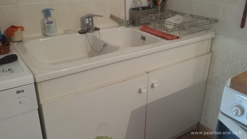 comment am nager un meuble sous vier basique moindre frais palettes co. Black Bedroom Furniture Sets. Home Design Ideas