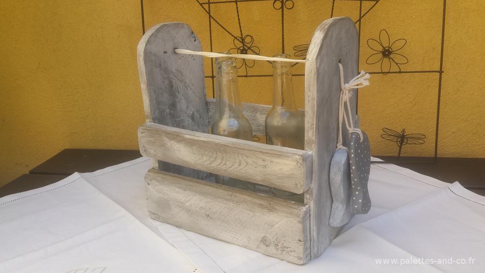 Porte tout en bois massifs de palette palettes co - Fabriquer des objets en bois ...