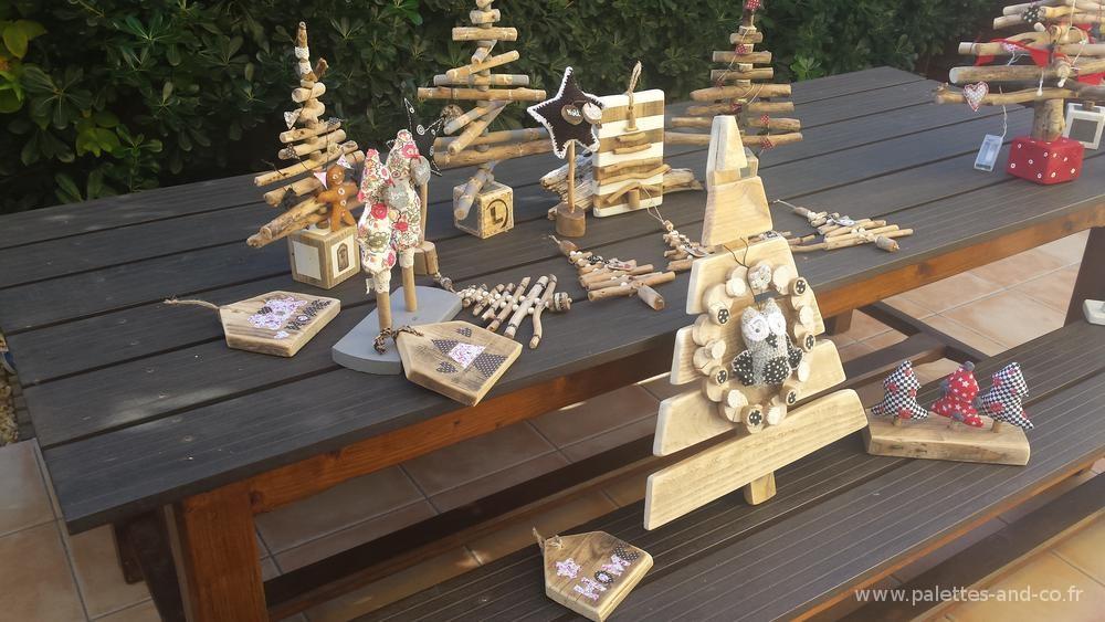Sapin bois palettes et flott s et d corations no l for Les bois flottes de sophie