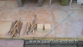 Comment cr er un sapin de no l en bois flott s palettes for Traitement bois flotte