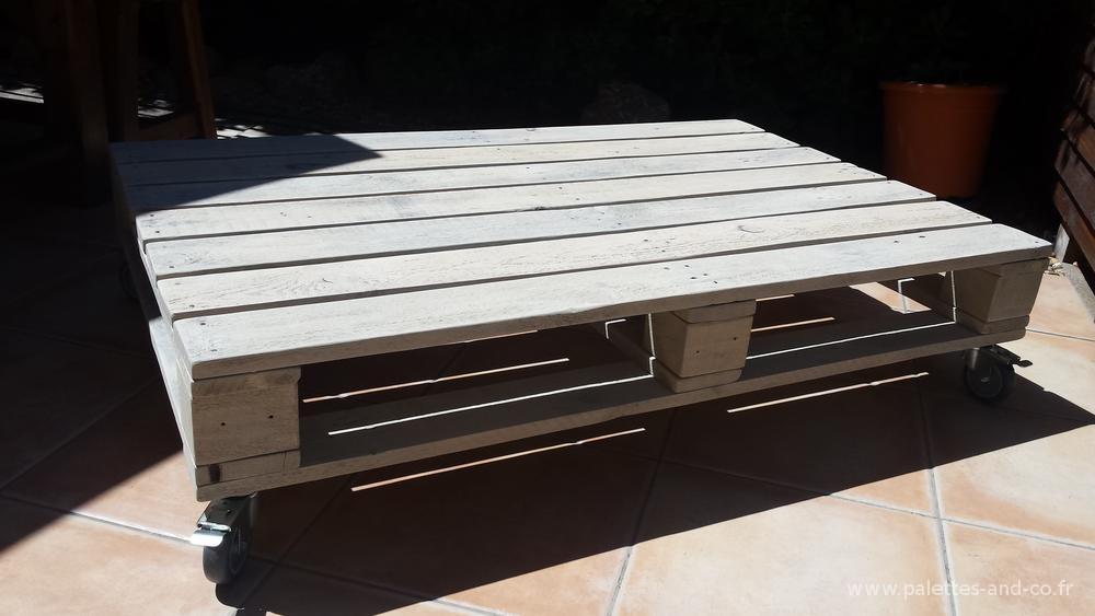 banquette mobile table basse esprit palette palettes co. Black Bedroom Furniture Sets. Home Design Ideas